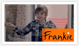 Eliot in Frankie, the BBC series