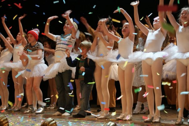 Eliot's final curtain call as Small Boy in Billy Elliot. 26-09-2009. Picture by shadowchaser.