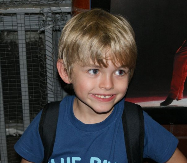 After Eliot\'s last night as \'Small Boy\' in Billy Elliot. 26-09-2009. Picture by shadowchaser.