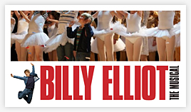 "Eliot's last night as ""Small Boy"" in Billy Elliot"